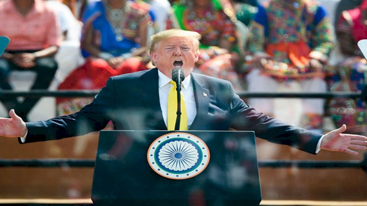 Donald Trump Praises Pakistan in front of Modi and Indian Nation.