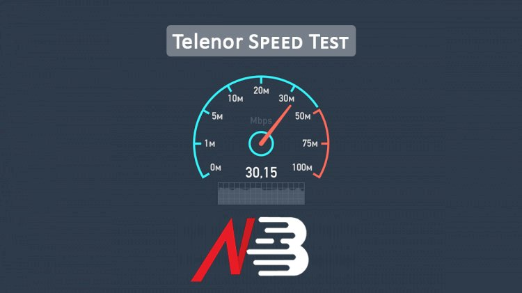 Telenor 3G/4G Speed Test