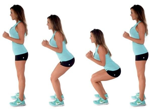 how to start exercise: Squats